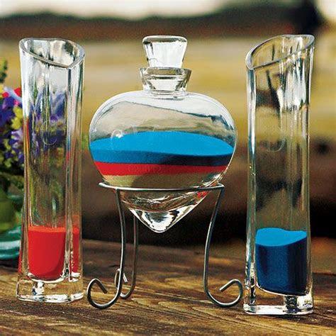 personalized heart shaped sand ceremony vase set