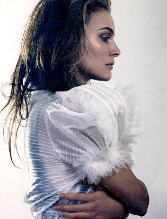 Natalie Portman for Elle UK by David Slijper