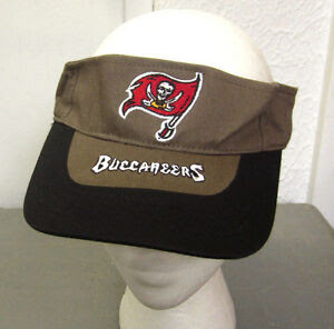 TAMPA BAY BUCCANEERS pirate flag NFL sunvisor embroidery hat 1990s logo cap
