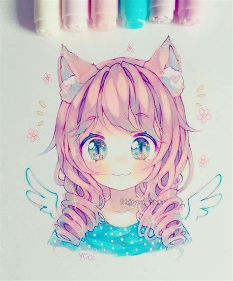 yoaihime   anime art manga drawing kawaii drawings