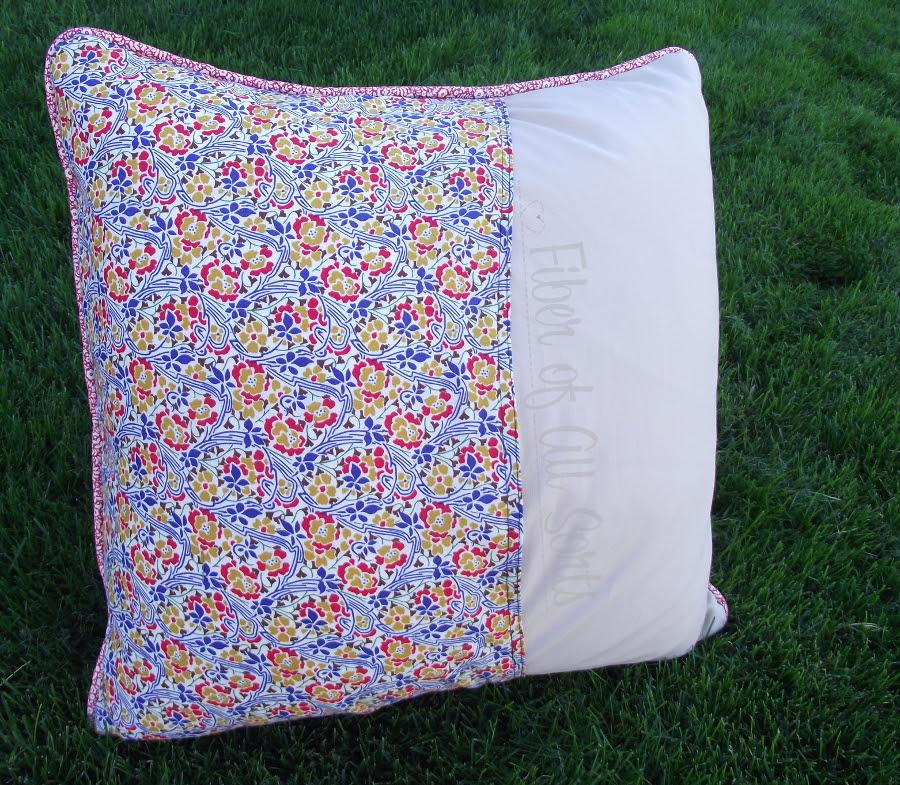 Liberty Pillow Challenge - Back