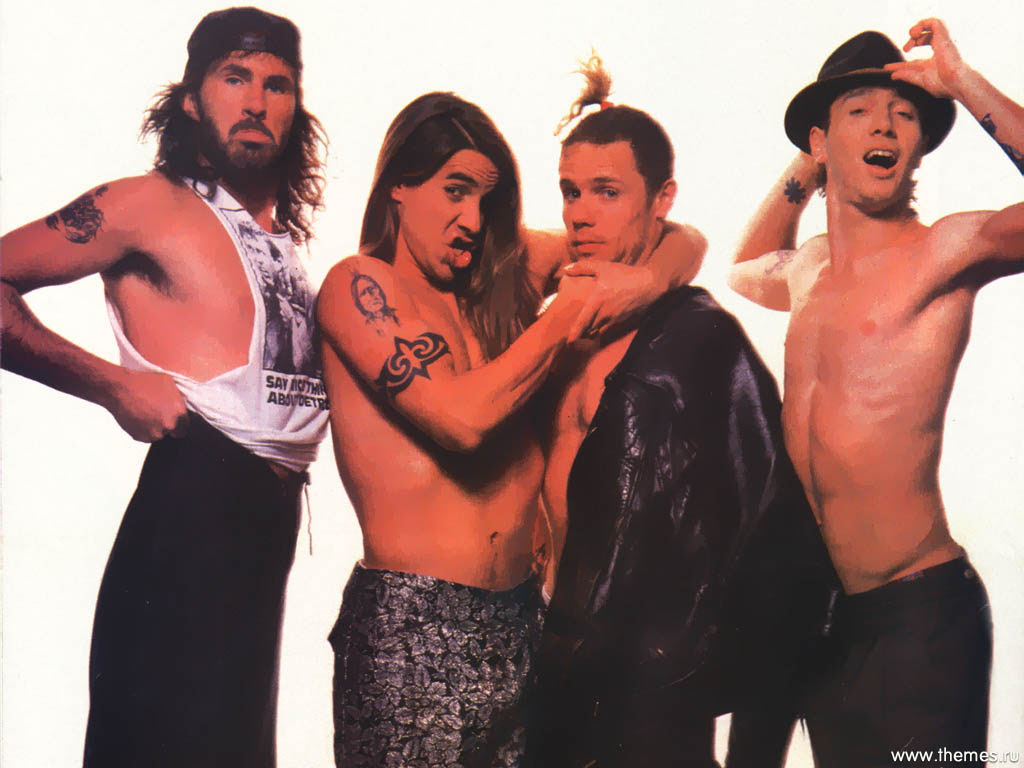 Red Hot Chili Peppers Bandswallpapers Free Wallpapers Music