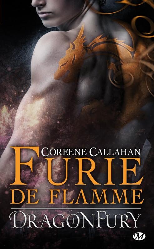 Couverture Dragonfury, tome 1 : Furie de Flamme