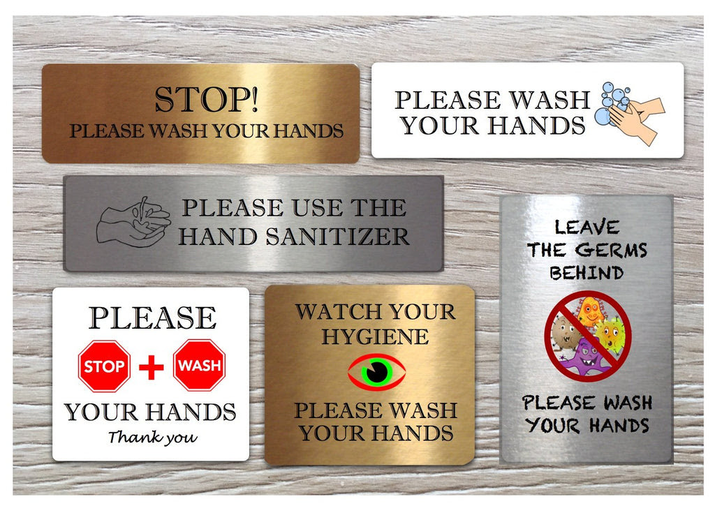 Hand Washing Use Sanitiser Bathroom Hygiene Sign Hand Wash Vital Signs Buy At Honeymellow Honeymellow