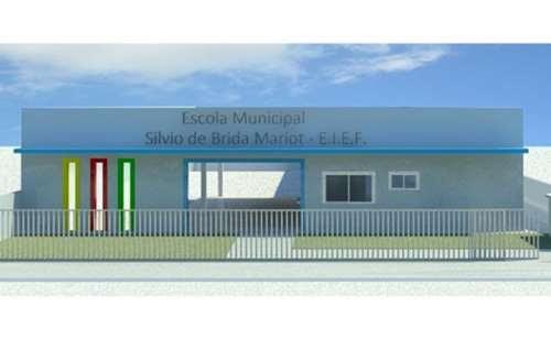 Palmital - Governo do Estado viabiliza construção da nova sede da Escola Municipal Silvio de Brida Mariot
