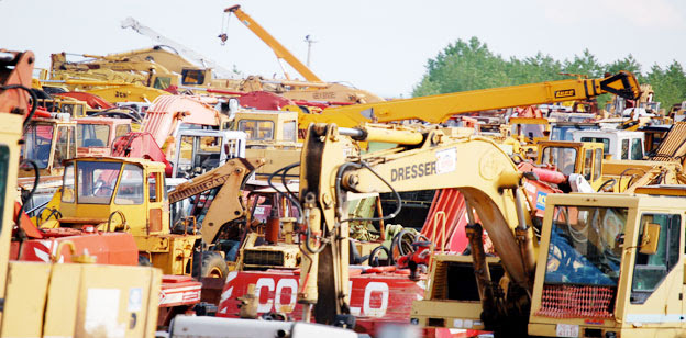 Used Excavator Images parts for construction Machinery