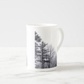 Snow-covered Trees: Vertical specialtymug