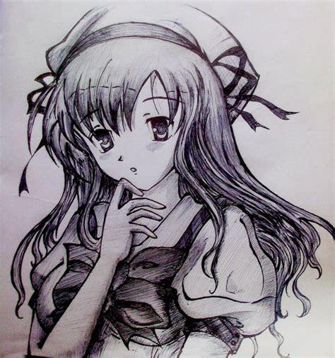 anime girl  timothyvial anime drawings
