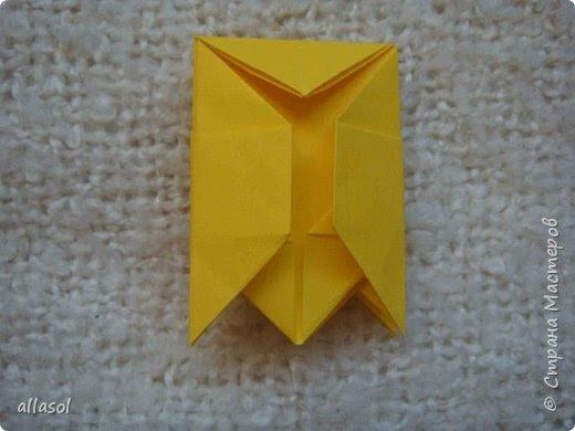 """Я показывала тюльпанчики-коробочки с конфетой http://stranamasterov.ru/node/1011679  . Для тех, кто заинтересовался - МК. Идея из книги   С.Соколовой """"Бумажные цветы, букеты, кусудамы.""""  фото 17"""