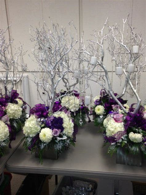 A complete package of decor for a Glam and/or Winter