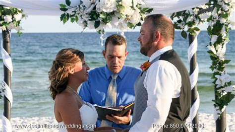 Beach Wedding Packages In Destin Florida afforidible many