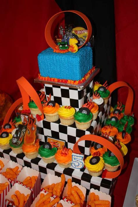 Hot Wheels Birthday Party Ideas   Photo 5 of 32   Catch My
