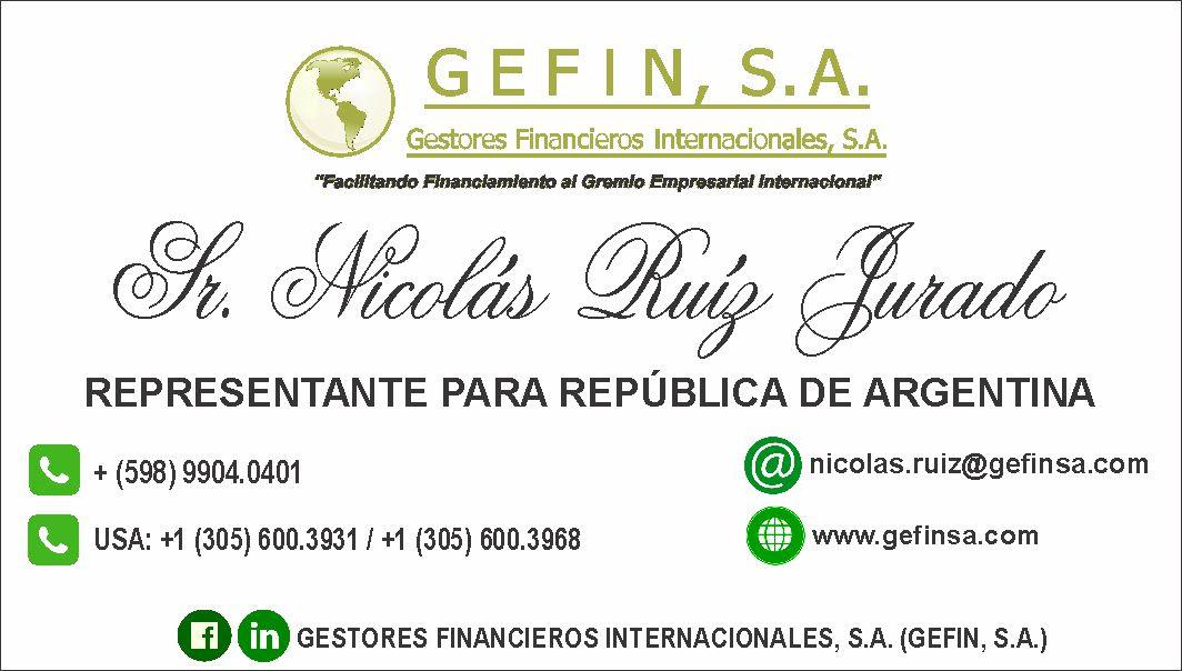 ARGENTINA: (NICOLÁS RUÍZ)