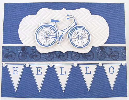 Hello Bicycles Card