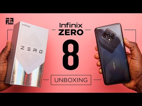 Watch Boxing Here Of New Infinix Smartphone:Infinix Zero 8 Unboxing video and Review Pictures