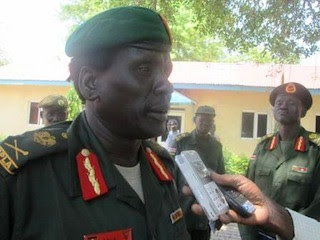 General Peter Gadet Yaak of South Sudan is said to be leading a mutiny from the SPLA in Bor, Jonglei state. Hundreds have been killed in the fighting. by Pan-African News Wire File Photos