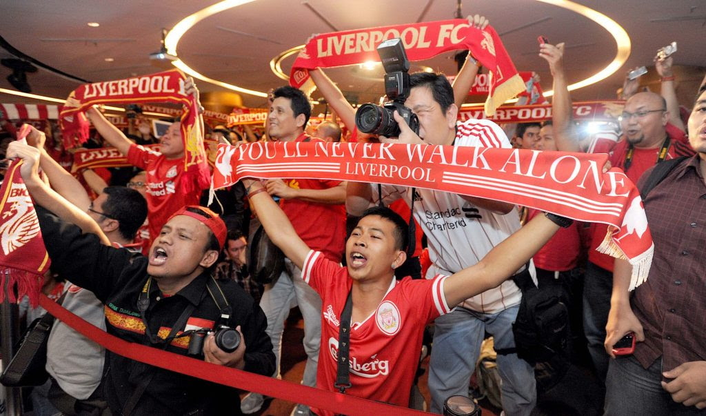 Liverpool's act of fans recognition - Reds welcome 11 new Official Supporters Clubs from around ...