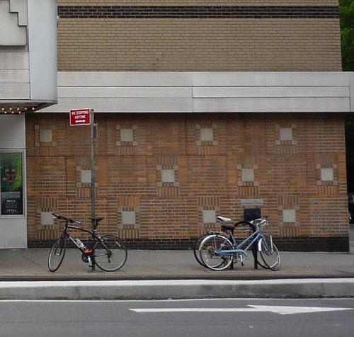 bikes, Joyce Theater