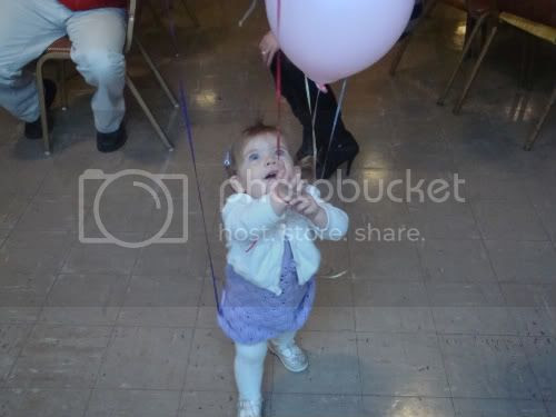 Abby and balloons