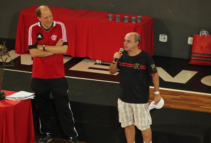 Flamengo inauguração ginásio A (Foto: Reprodução)