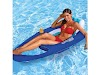 SwimWays Spring Float Recliner Swim Lounger for Pool or Lake, Lay Back in the Mesh Seat and Float Into Relaxation, Dark Blue/Light Blue (New Open Box) for $36