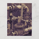 Rusty Pipes postcard
