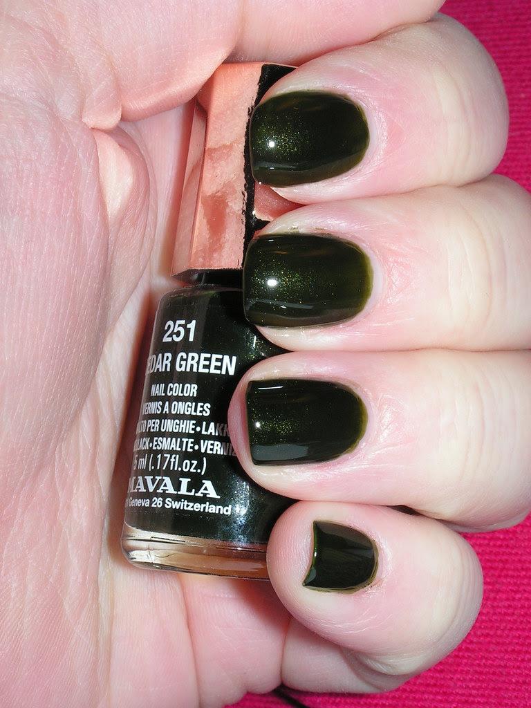 Mavala 251 Cedar Green 3C with TC