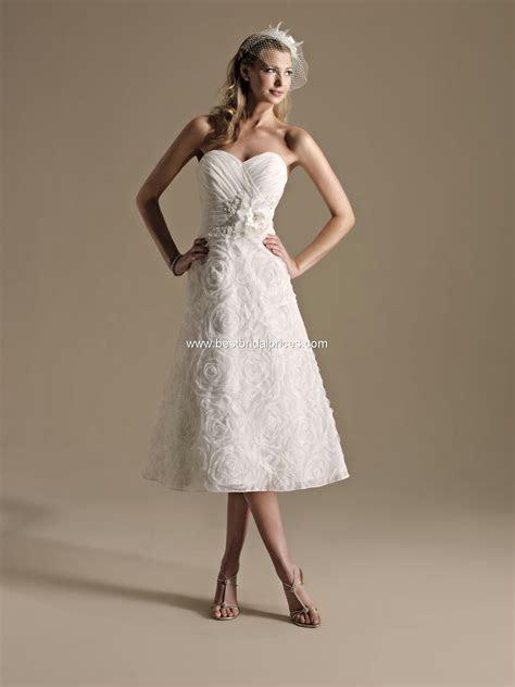 Top Ten Wedding Dress Style in 2013 ? Tea Length   Wedding
