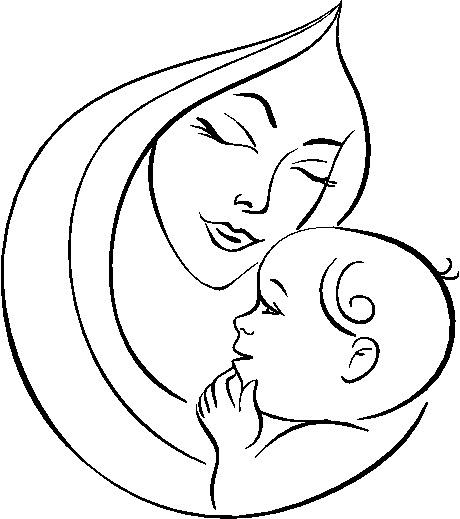 Dia De Las Madres Para Colorear