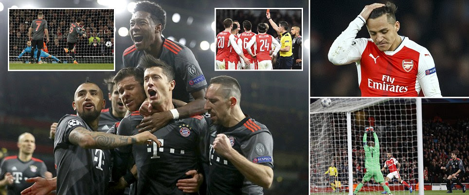 Arsenal news: Arsene Wenger's side humiliated by Bayern