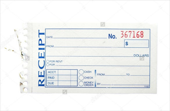 blank receipt template 20 free word excel pdf vector eps