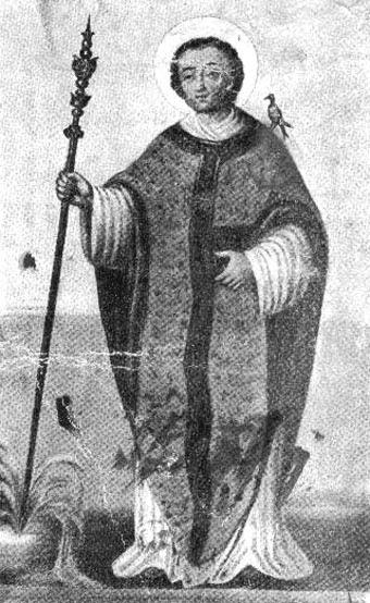 Saints Ours d'Aoste et Leubais (6ème s.)