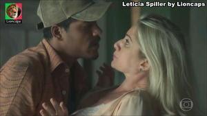 Leticia Spiller sensual na novela Setimo Guardião
