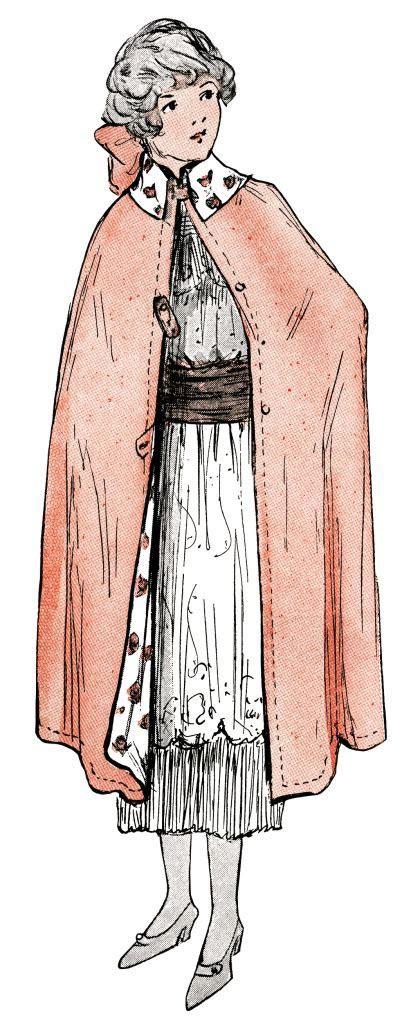 1914 Teen Fashion ~ Free Vintage Image   Old Design Shop Blog