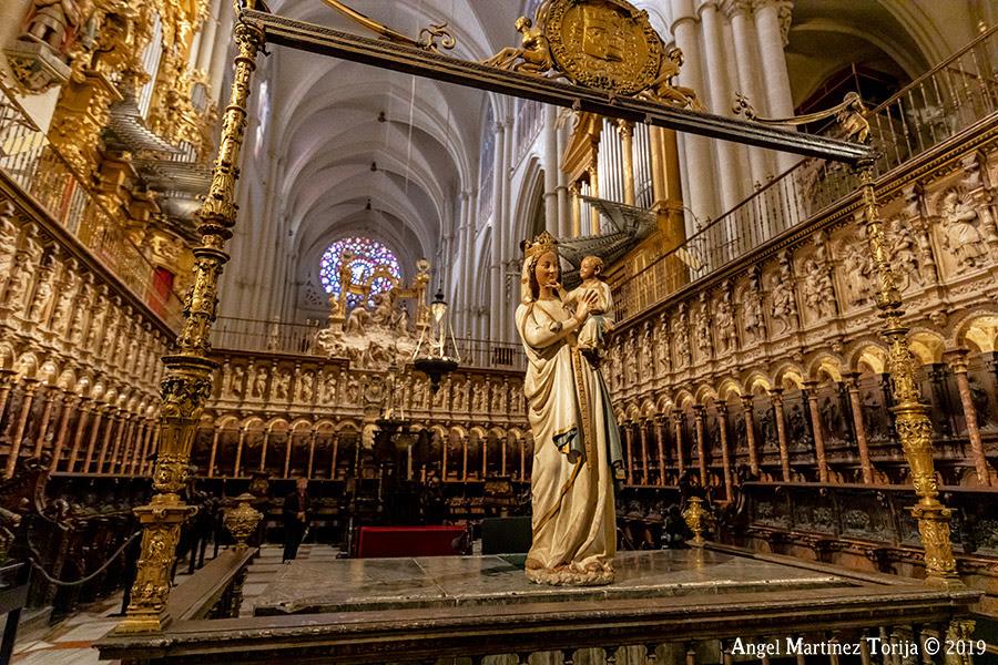 Resultado de imagen de coro catedral de toledo