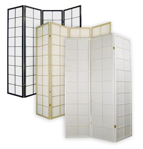 japanese room divider shoji rice paper  panel traditional