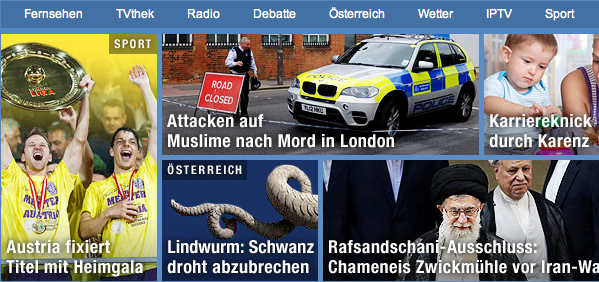 ORF zum Mord in London