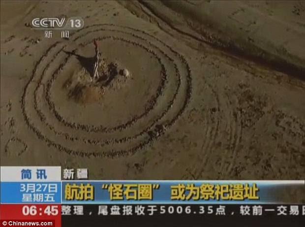 Círculo del Sol, el Stonehenge chino.