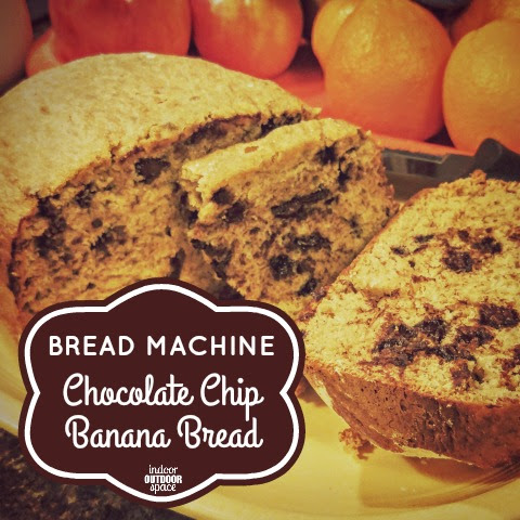 Bread Machine Chocolate Chip Banana Loaf Recipe | Indoor ...