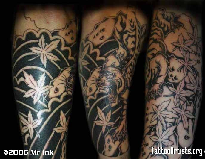 Tiger Lower Arm Sleeve Tattoo Tattoomagz