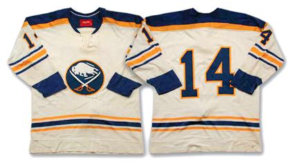 1974-75 Buffalo Sabres Rene Robert jersey