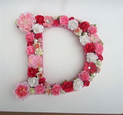 Floral letter   Flower letter   Personalized letter
