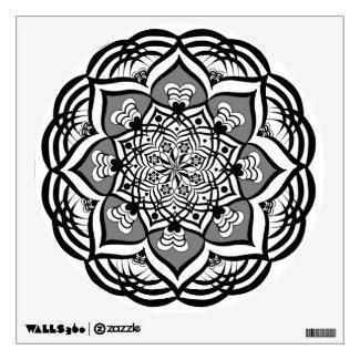 Ruddrataksh Affirmation Mandala Wall Decal
