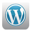 WordPress iPad Icon