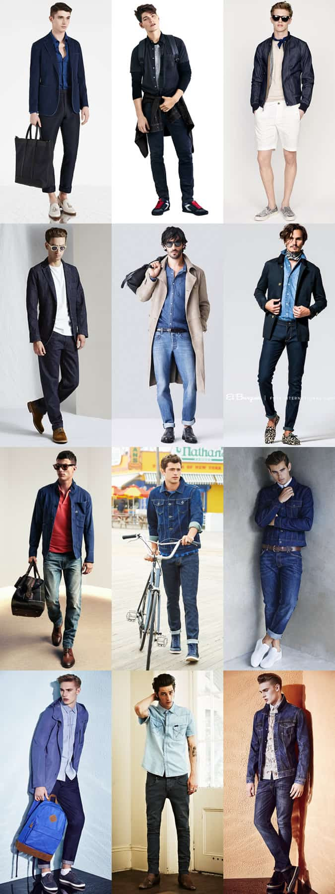 Men's Denim Outfit Inspiration Lookbook
