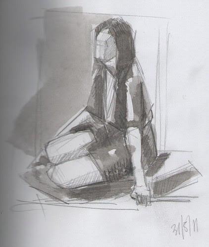 quick life sketches 002 by dibujandoarte