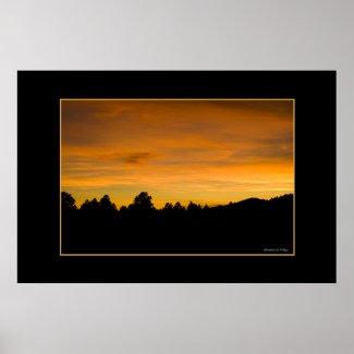 Prairie Sunset print