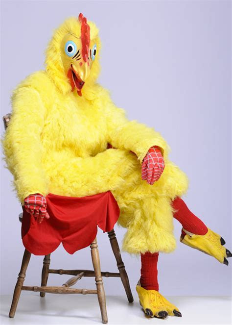 Adult Deluxe Chicken Or Rooster Costume