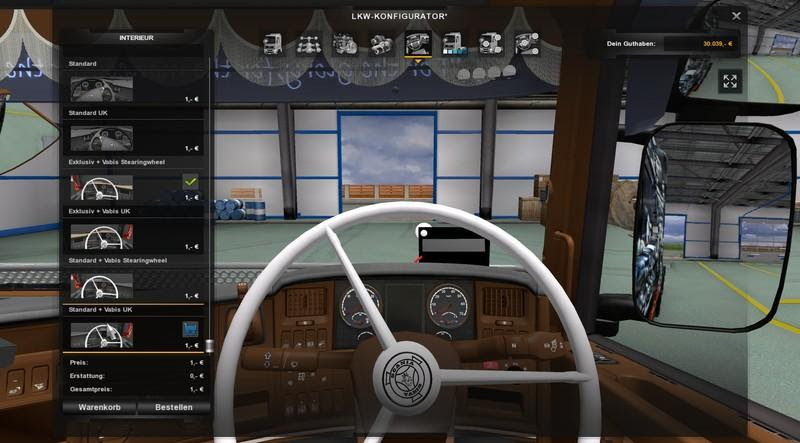 50k Scania R 2008 Vabis Steering Wheel V1 1 Fixed For Ets2