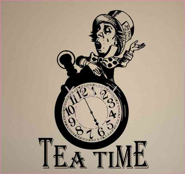 Alice In Wonderland Clock Drawing At Getdrawingscom Free For